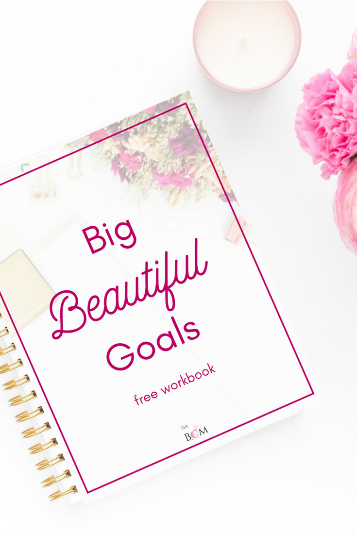 Free Workbook to help you set and get the right goals for yourself - are you ready for change?