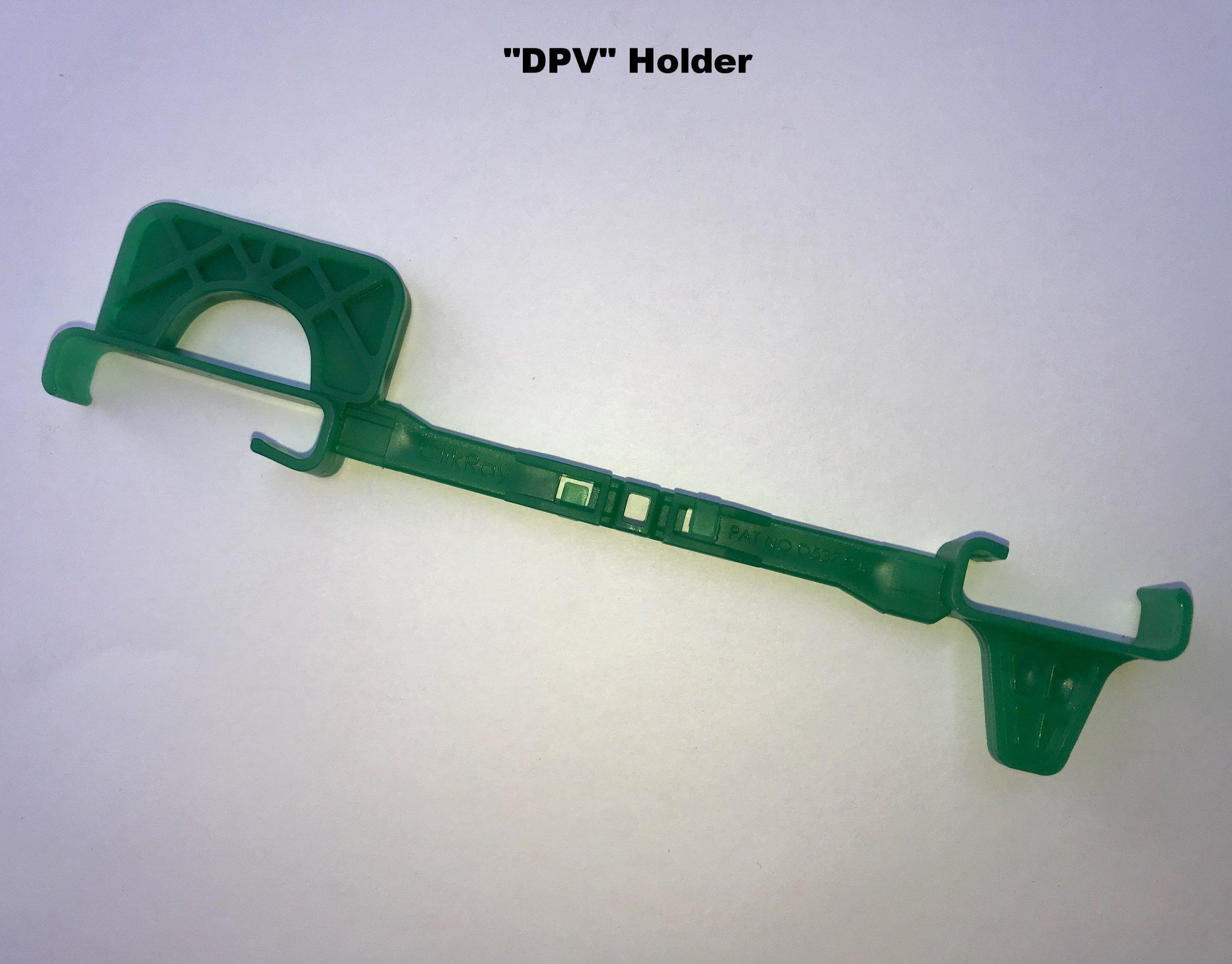 """""""DPV"""" Holder: Enhanced thicker pedo biteplane- vertical bitewing/anterior side"""