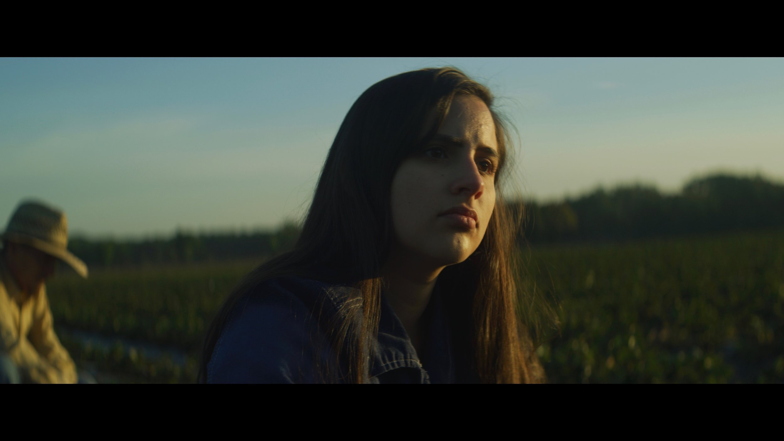 Maria - Maria is an immigrant who is working on a small horse ranch until her visa expires. She meets José, (a US resident) and she's unsure whether she wants to pursue him out of love, or a chance at a green card.