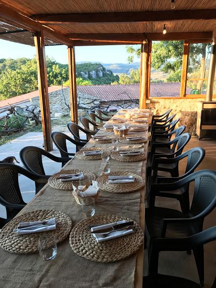 tuscan dining al fresco