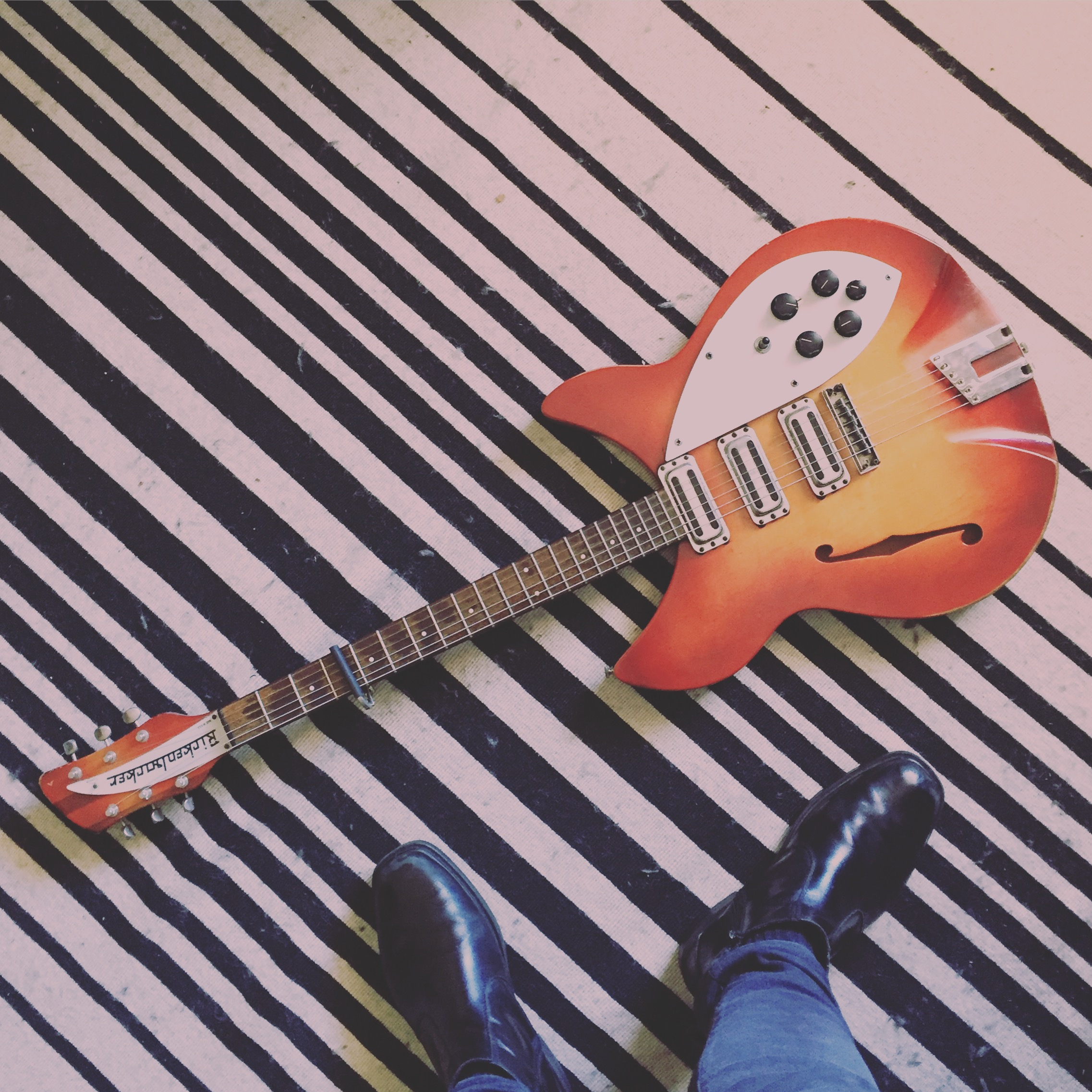 Favourite guitar is Rickenbacker - Love Fenders too. And Guild. And Vox guitars.