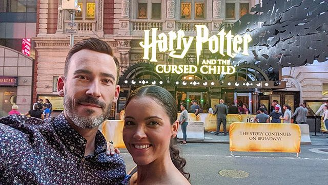 Harry Potter and the Cursed Child on Broadway with this Hufflepuff ❤️🥰❤️🥰