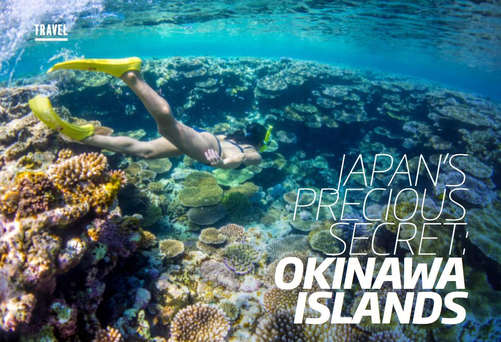 FITNESS FIRST MAGAZINE, ON BEHALF OF VISIT OKINAWA