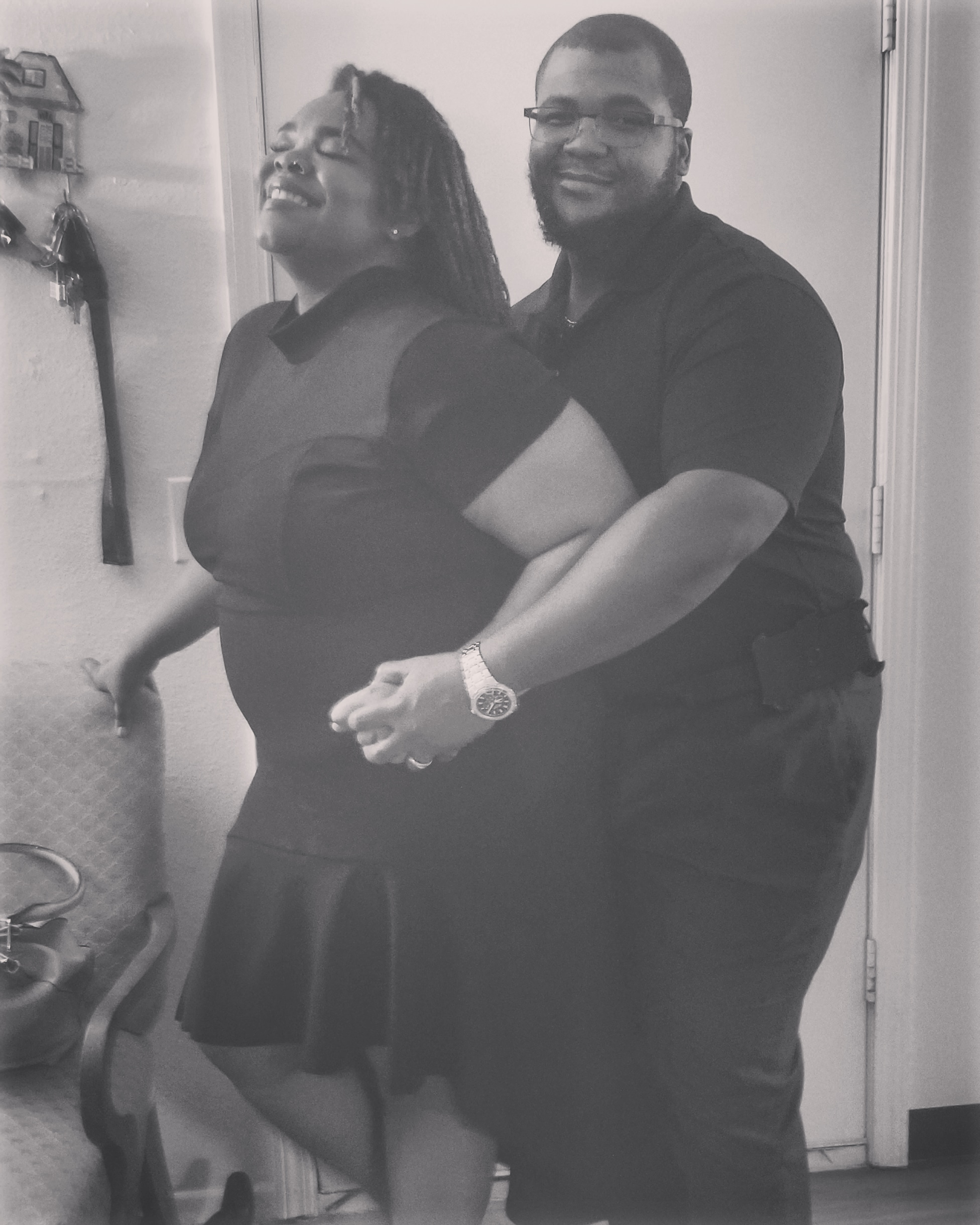 Us on our 2nd wedding Anniversary.