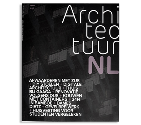 Building Bytes featured in ArchitectuurNL Magazine (Netherlands)