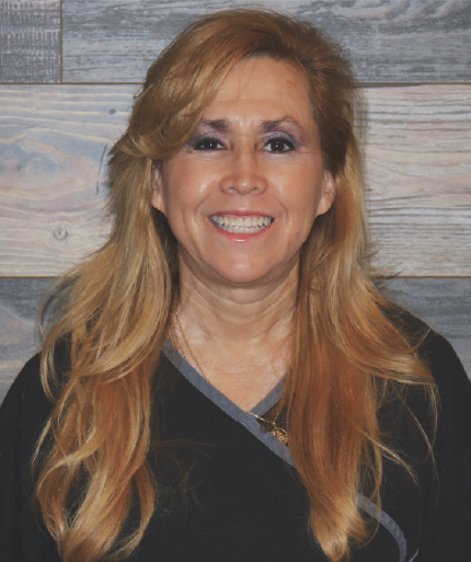 RachelDental Assistant - Rachel graduated from Apollo and has been with this practice for 18 years. She loves working in the dental field and loves to put a smile on our patients faces while putting them at ease.In her spare time she loves dancing and music, especially ballroom salsa. She likes to DJ for family and friends. Se habla español.