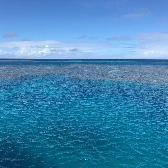 Our planet, how lucky are we. . . #presence #gratitude #ourplanet # greatbarrierreef #protectouroceans
