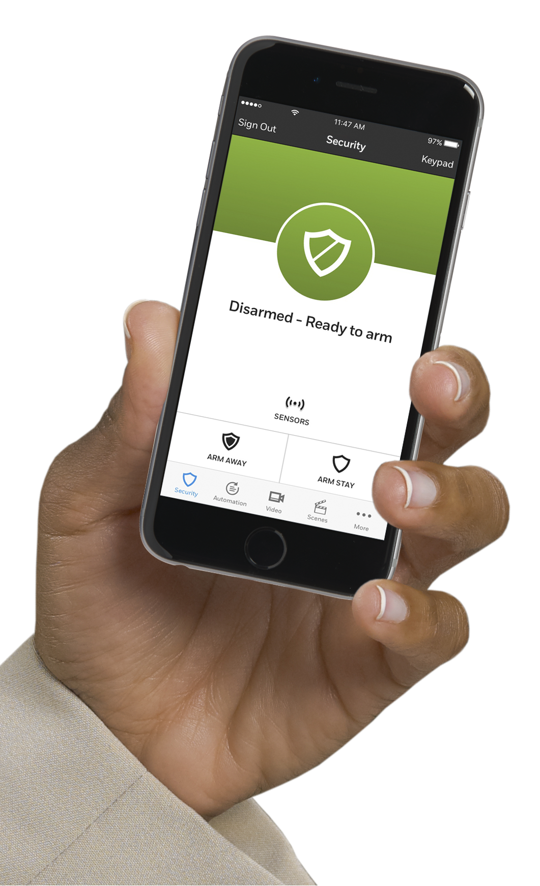 Take Total Connect 2.0 for a Test Drive - The link  below will take you to Honeywell's external site where you can explore how the app works in multiple settings.