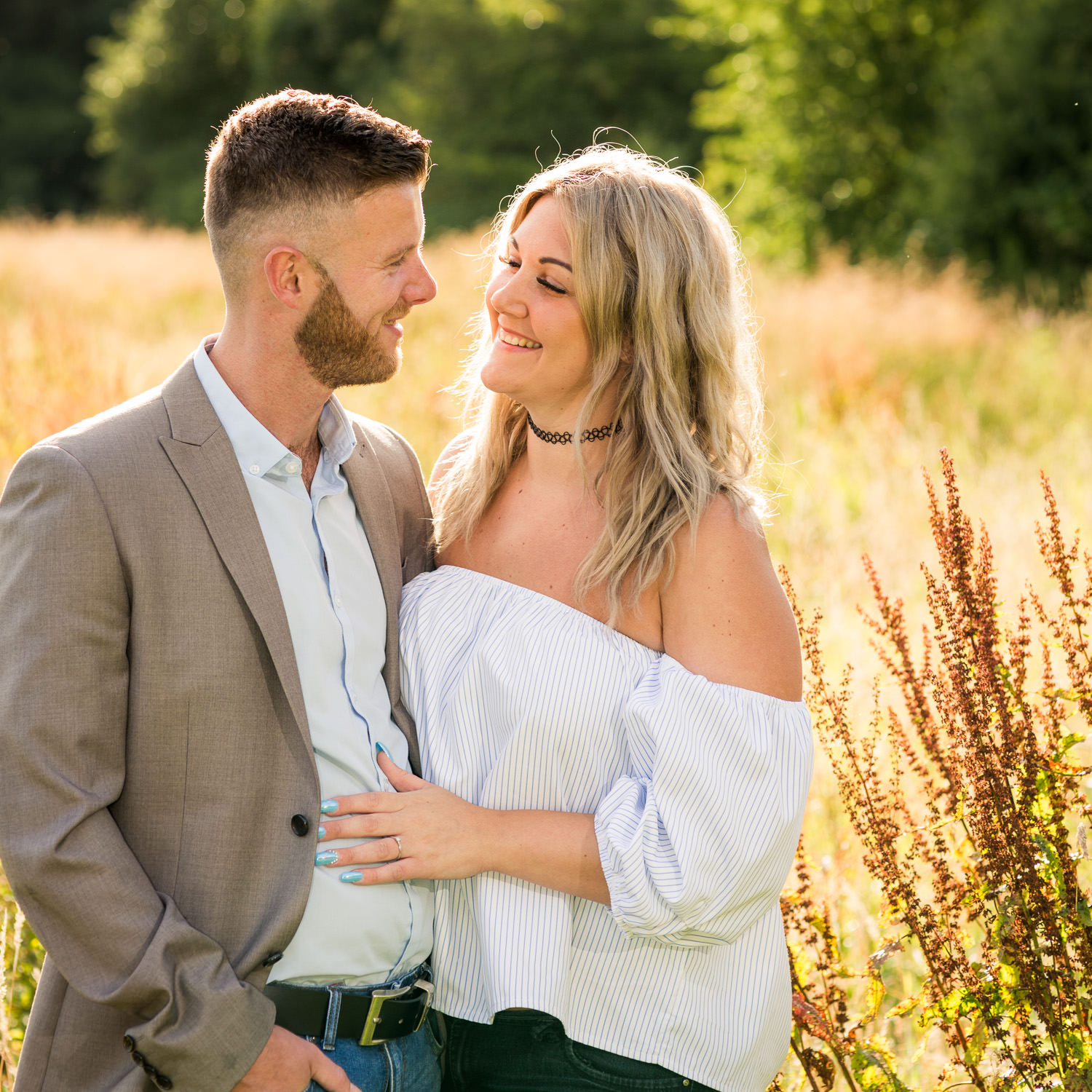 engagement pre wedding photo plessey woods