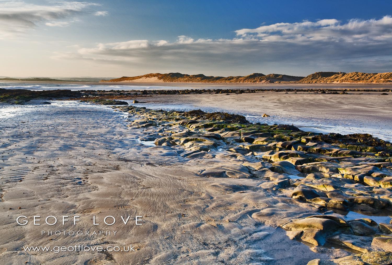 Beadnell sand