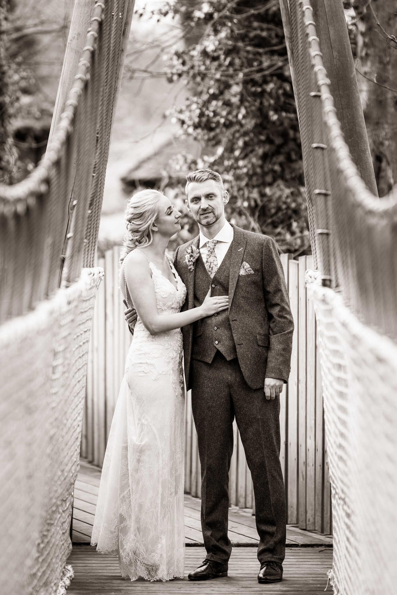 wedding alnwick treehouse