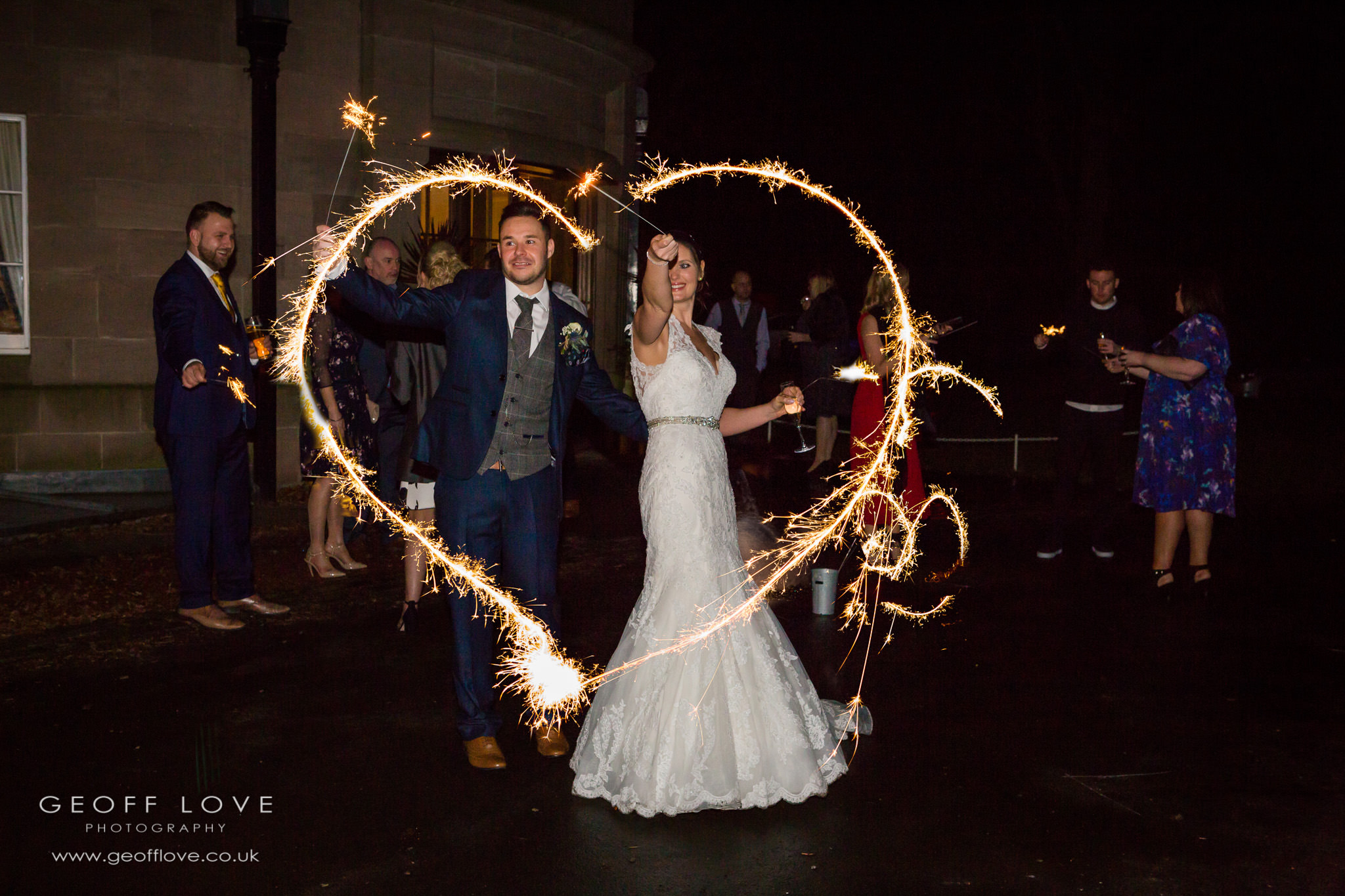 doxford hall wedding fireworks