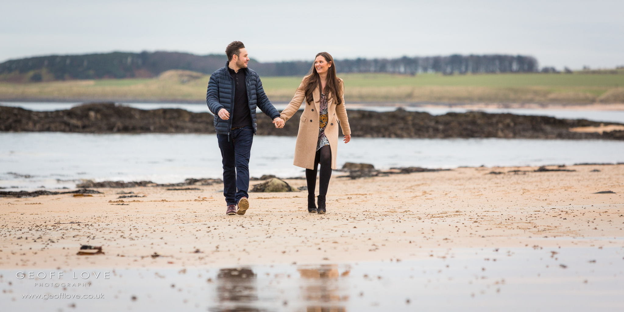 doxford hall newton beach engagement