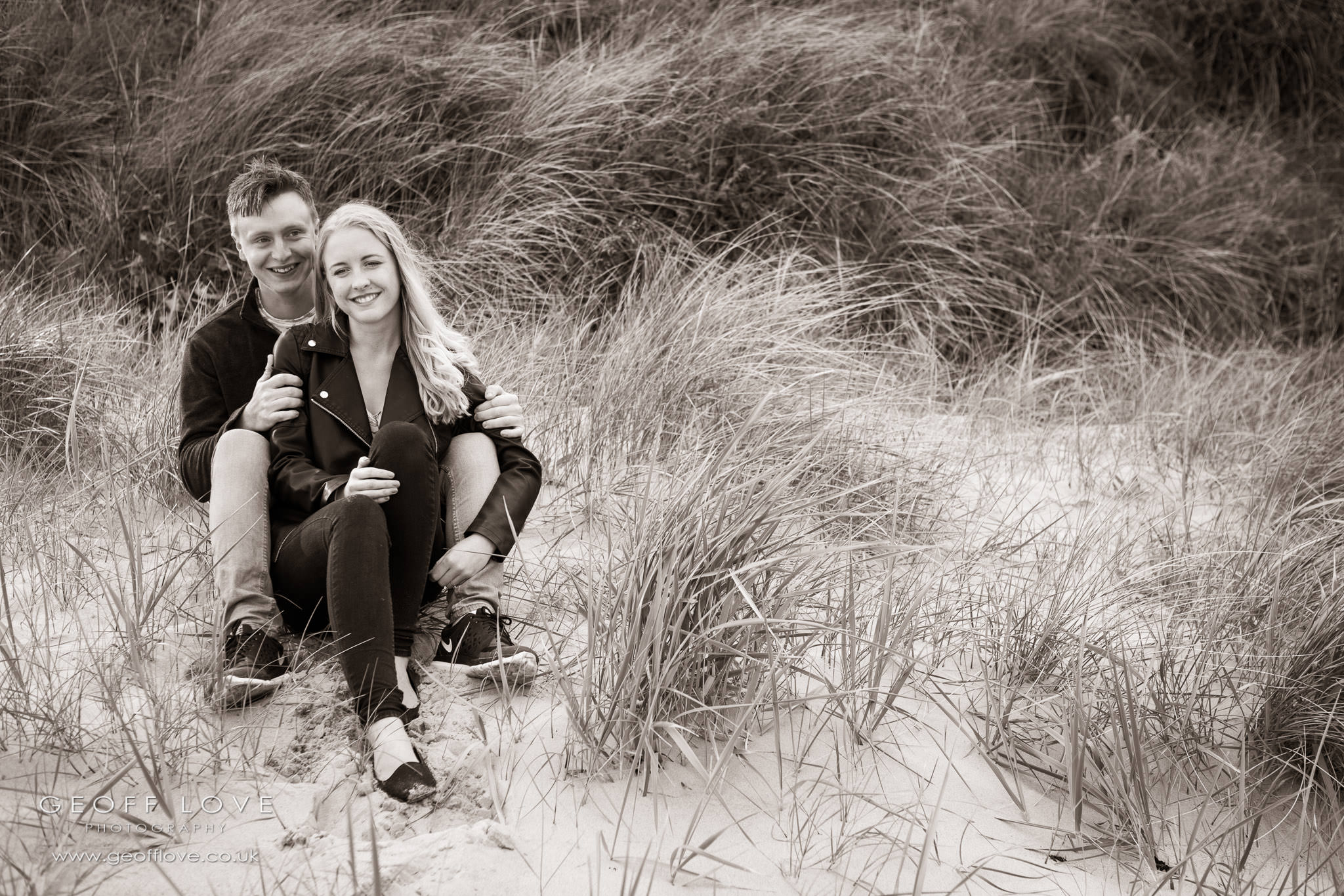 pre wedding shoot newton by the sea