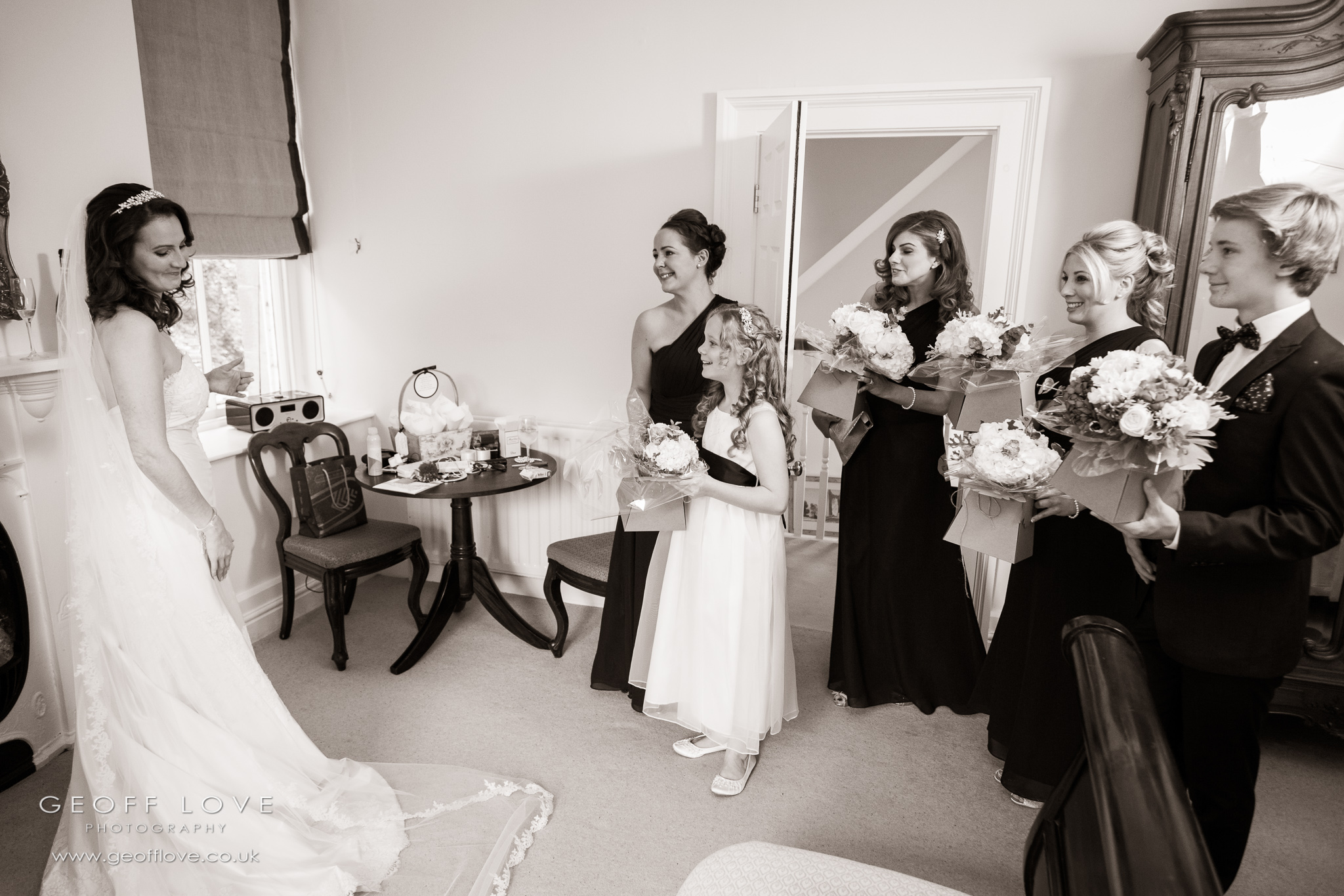eshott hall wedding photographer