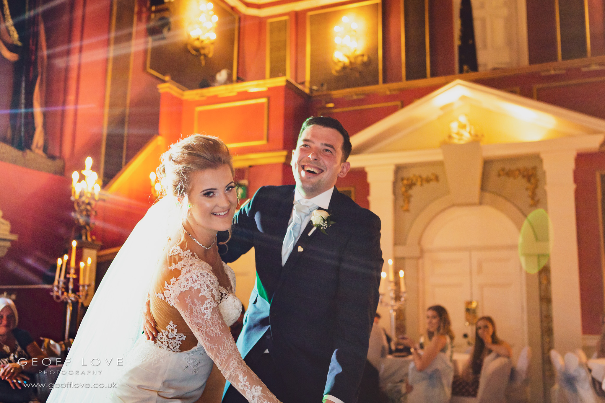 first dance photo lumley castle