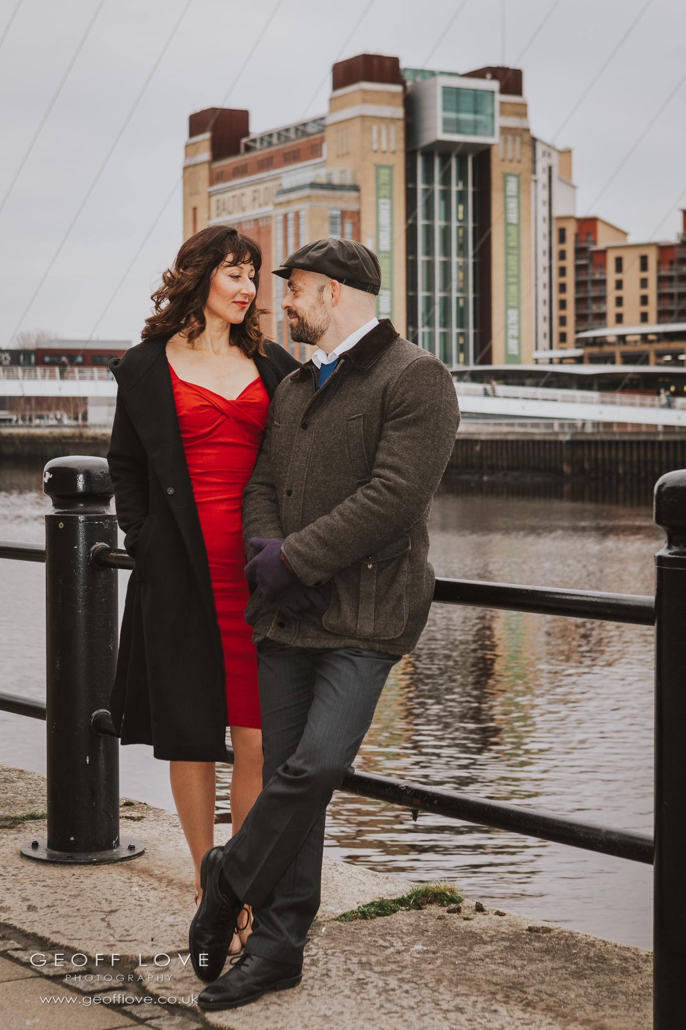 newcastle wedding proposal photo