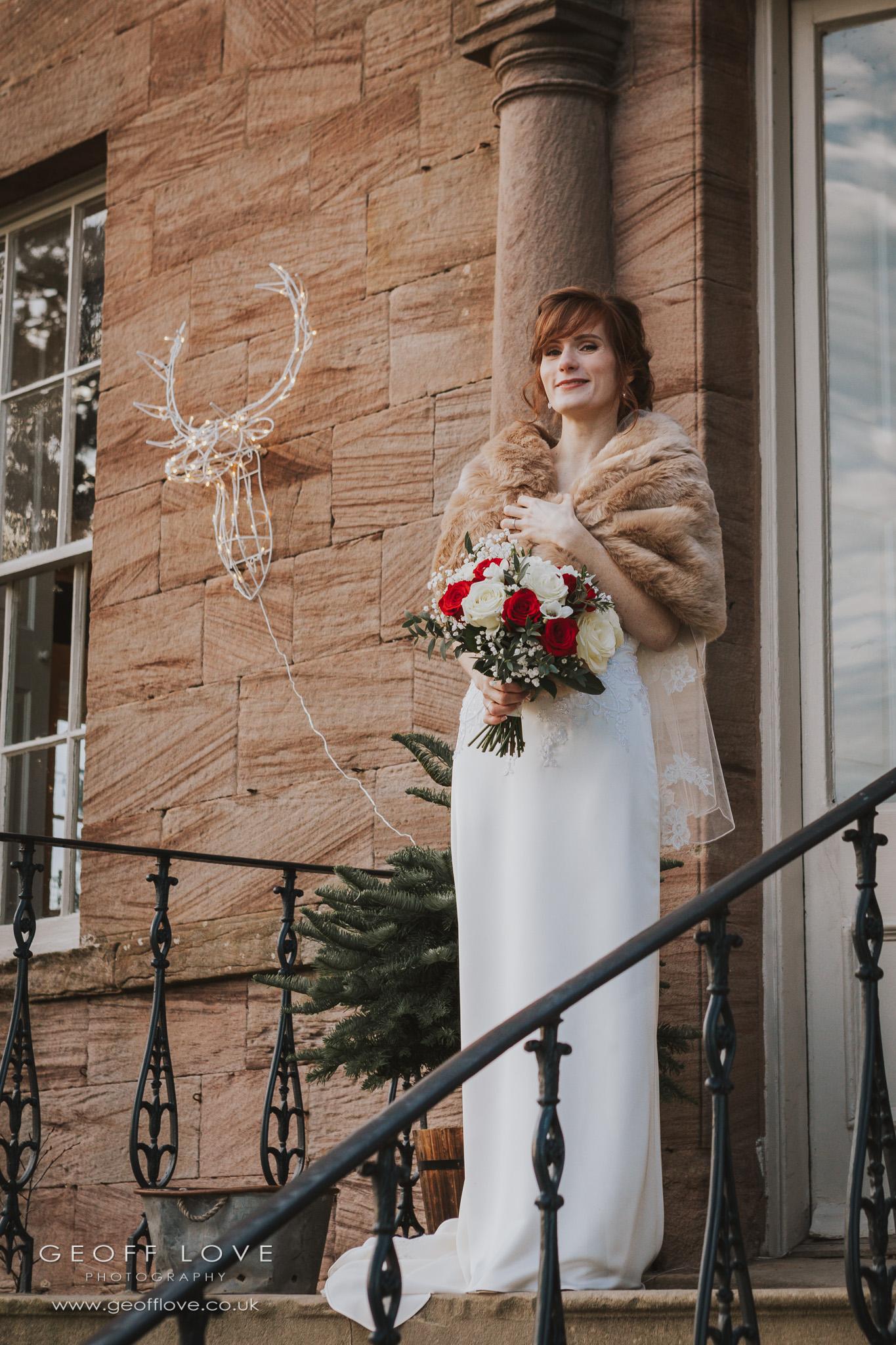 newton hall wedding photos