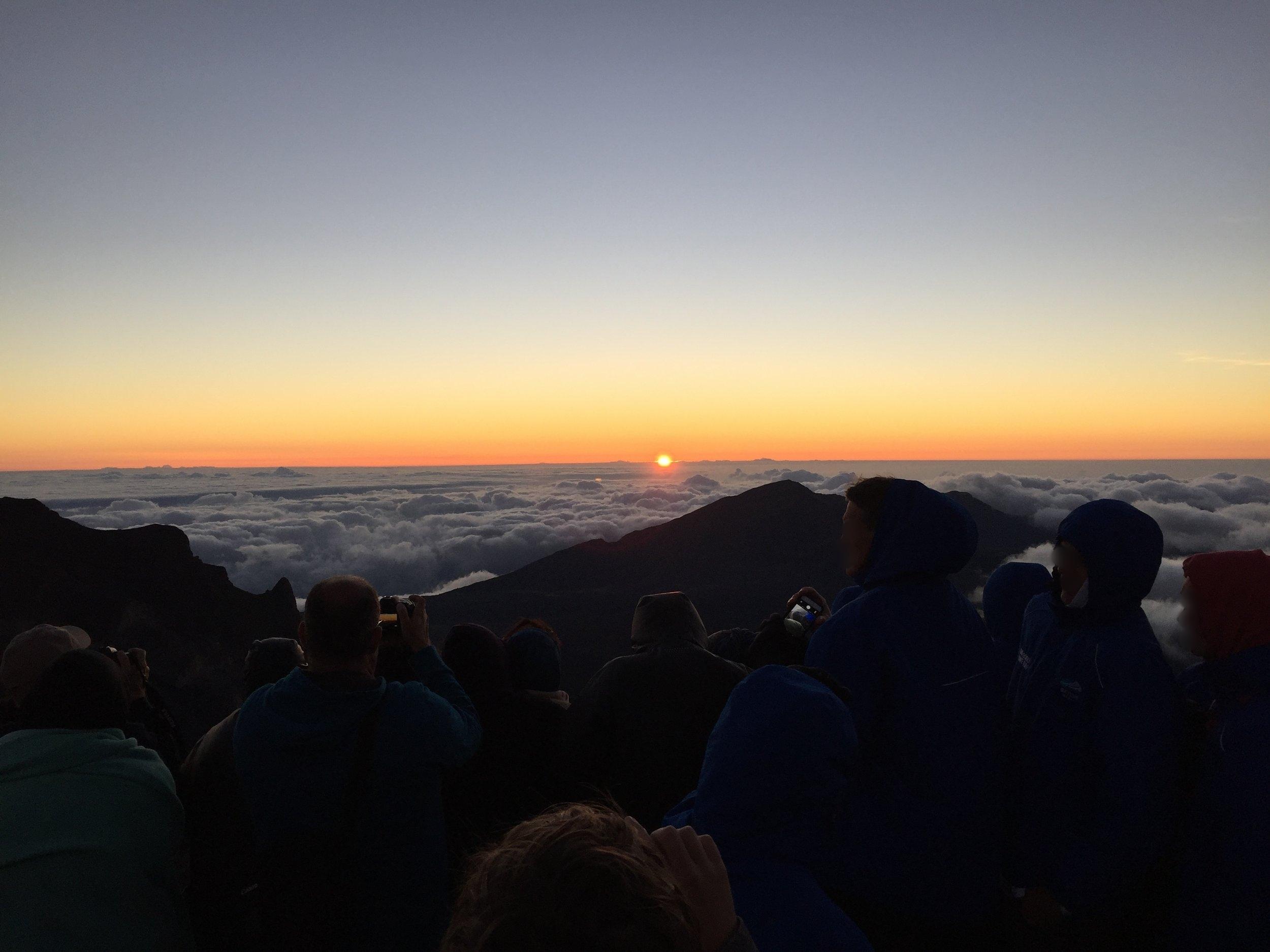 Sunrise at last!