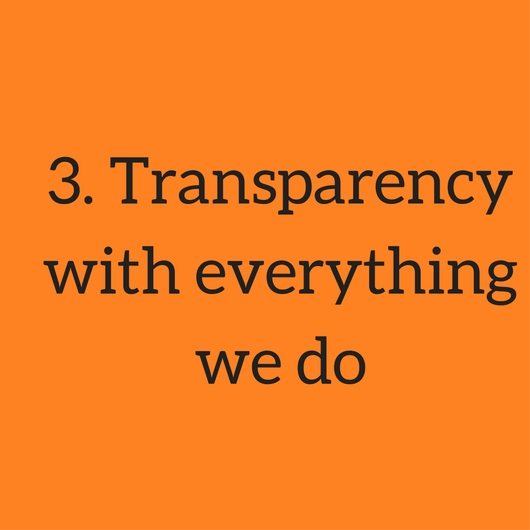 3. Transparency with everything we do.jpg