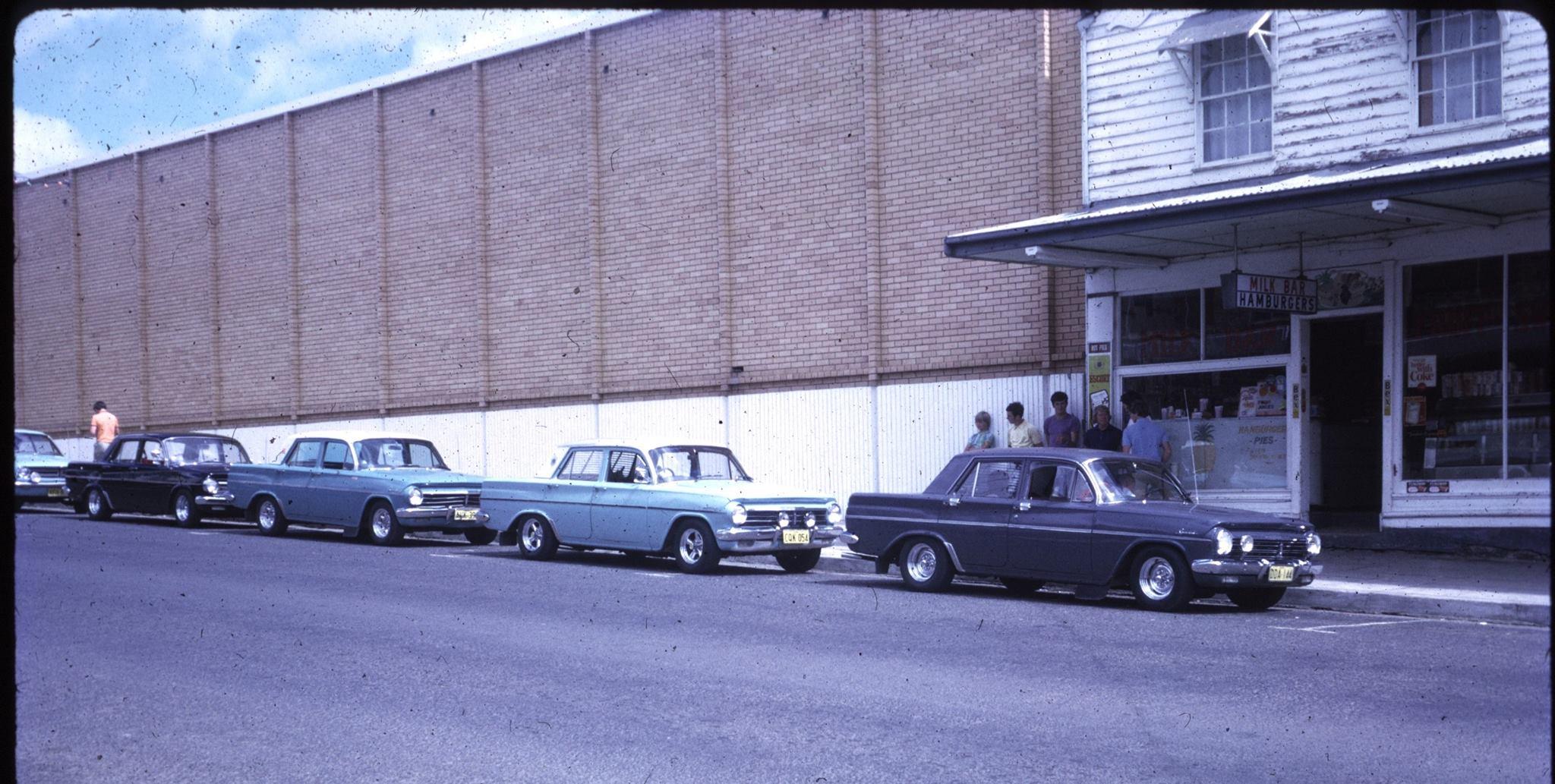 Charlie's in 1972
