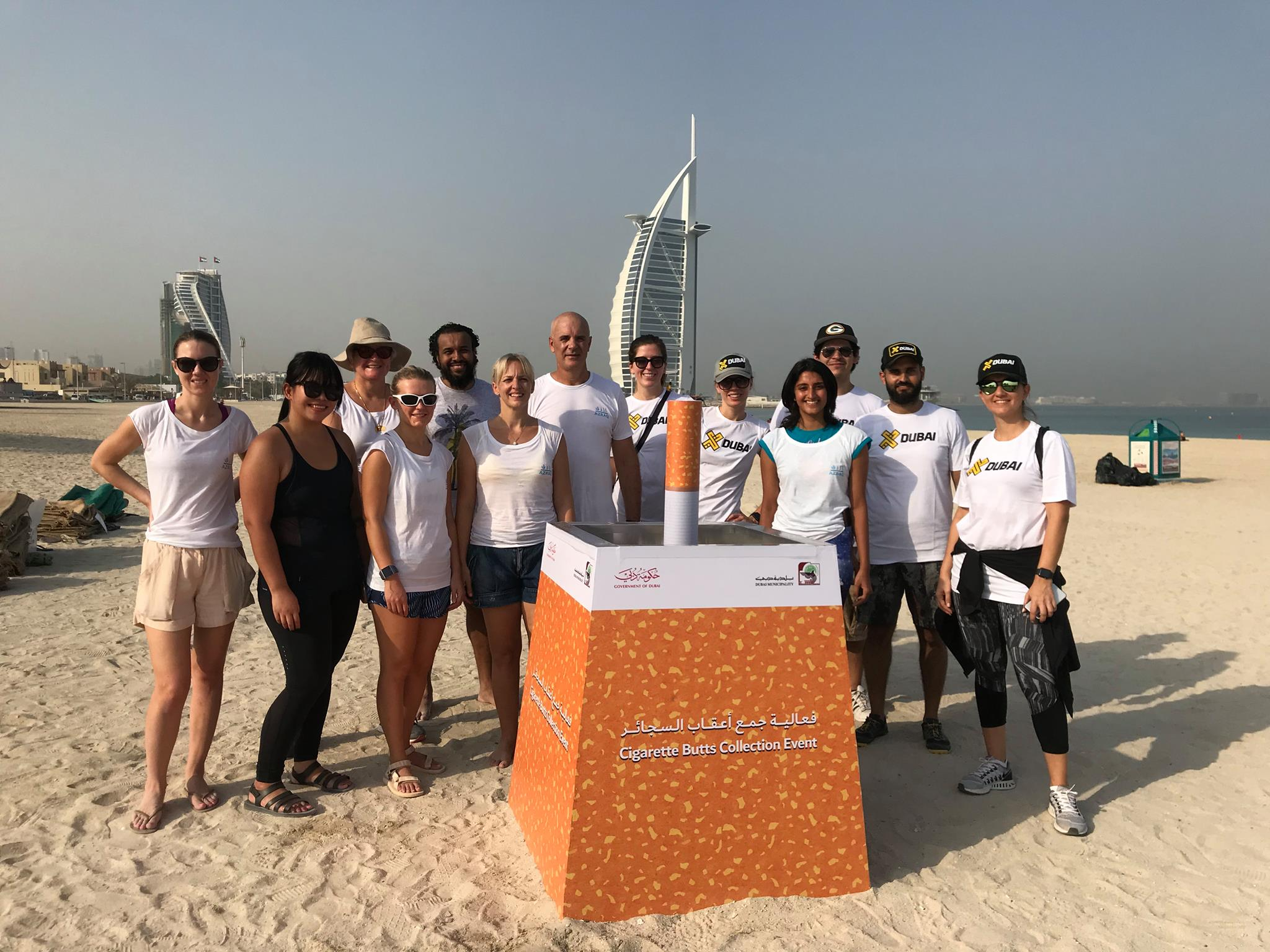 World Clean Up Day with X Dubai 2018