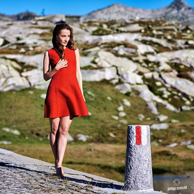 Model: @supersonka.forever  #alps #beautiful #beauty #colors #D810 #dress #face #fashion #fashionphotography #feelgood #female #instabeauty #longhair #model #modeljob #mood #mountain #natural #outdoors #peaceful #portrait #pretty #red #silence #street #summer #switzerland #wind #woman