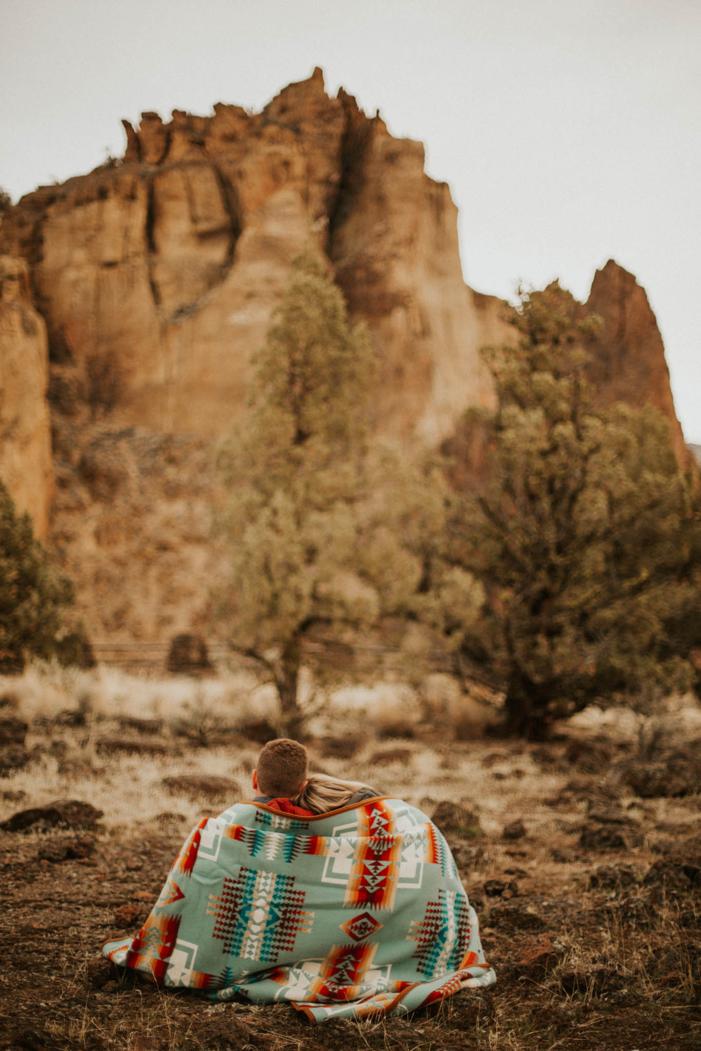 Smith Rock State Park Engagement Session | Rosemary & Pine Photography
