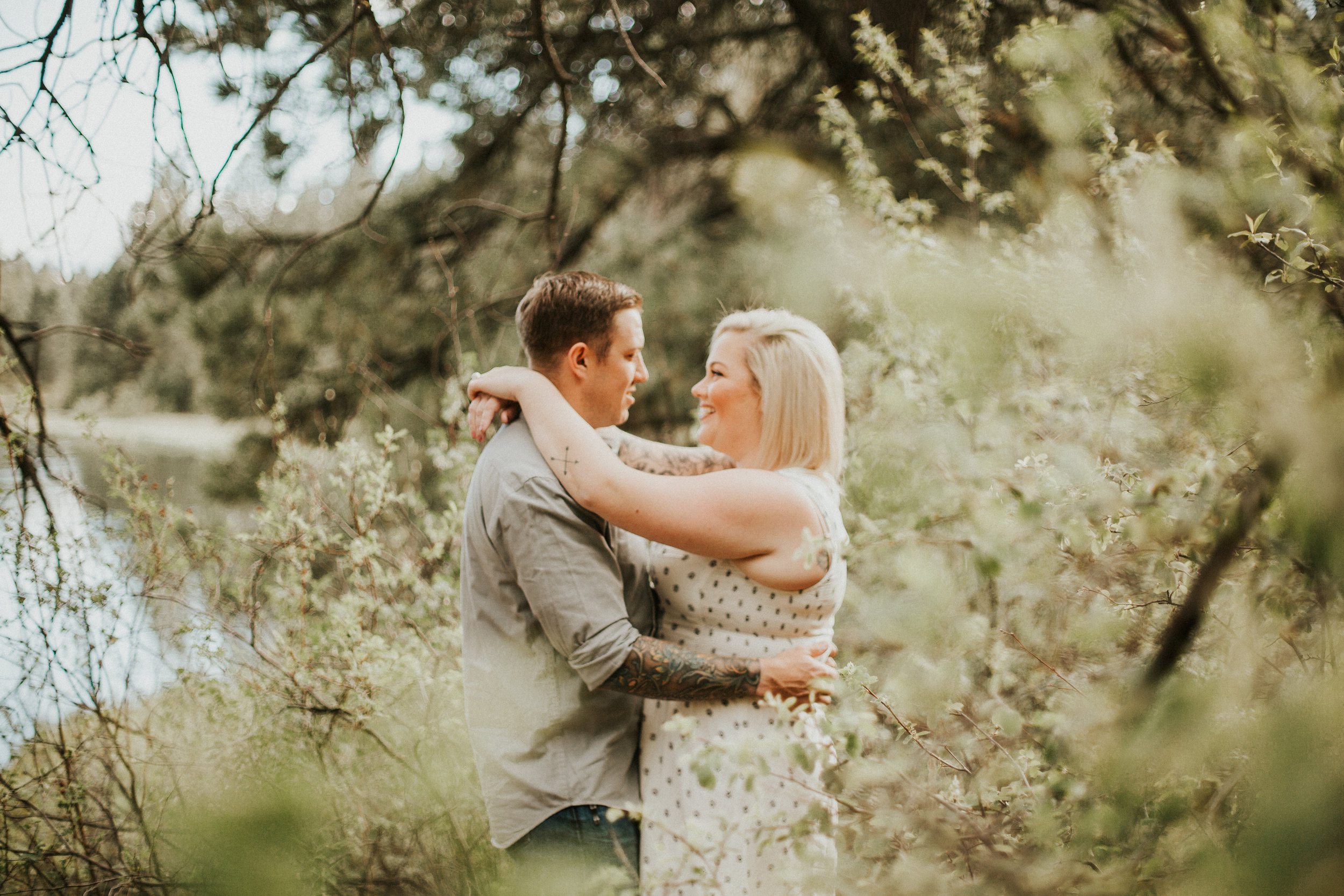 Spring Meadow Camp Engagements, Bend Oregon | Rosemary & Pine Photography