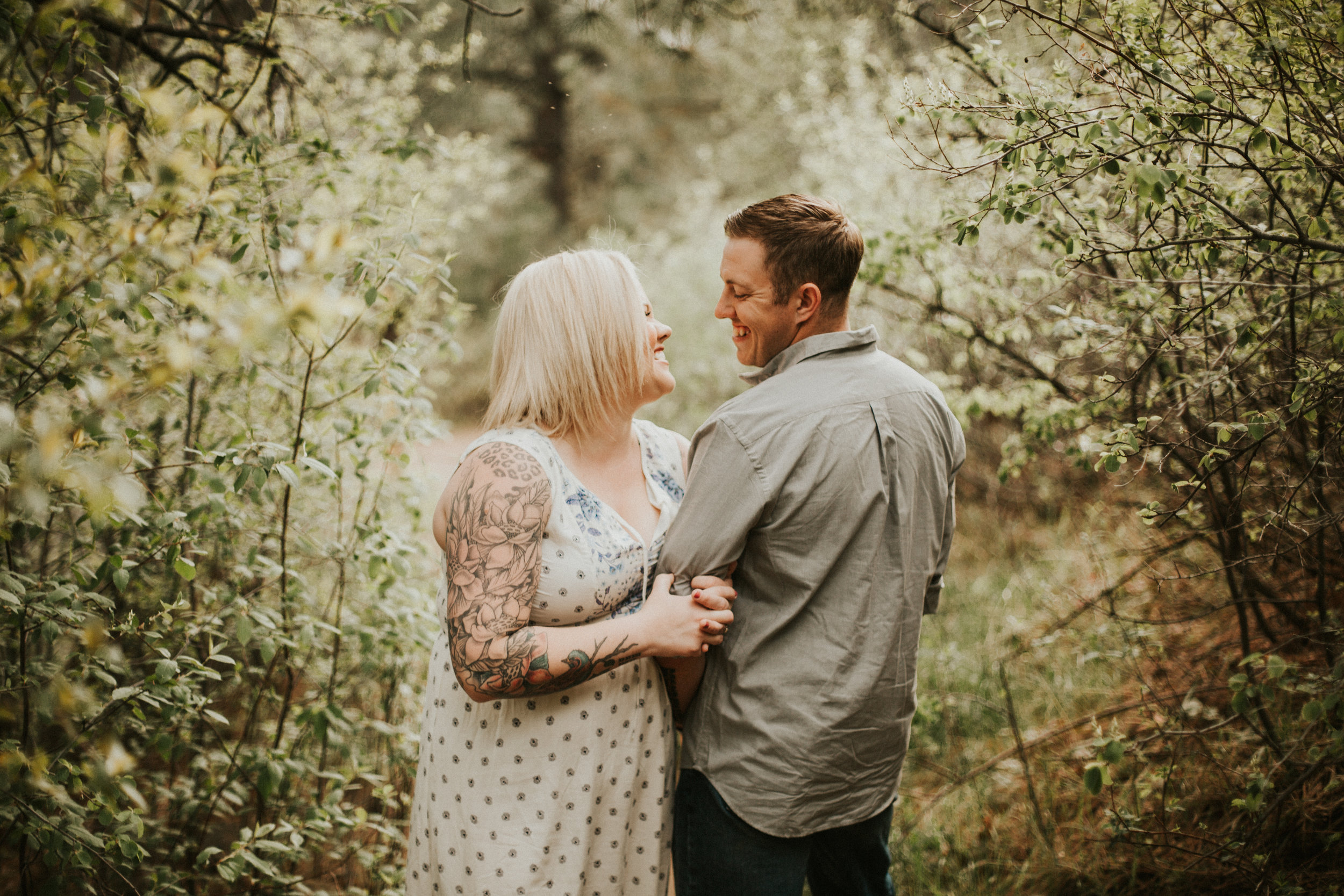 "- "" MY FIANCÉ AND I WERE BEYOND NERVOUS FOR OUR ENGAGEMENT PHOTOS. TANDY MADE US FEEL LIKE WE'VE BEEN MODELING OUR ENTIRE LIVES! SHE MADE US FEEL SO COMFORTABLE AND CONFIDENT IN OURSELVES. SHE EVEN WENT OUT OF HER WAY TO CAPTURE NOT ONLY FAMILY PHOTOS BUT PORTRAITS OF MY SONS TOO. I REALLY CAN'T EXPRESS HOW GRATEFUL I AM FOR THE PHOTOS SHE CAPTURED AND THE MEMORIES I'LL HAVE FOR THE REST OF MY LIFE."