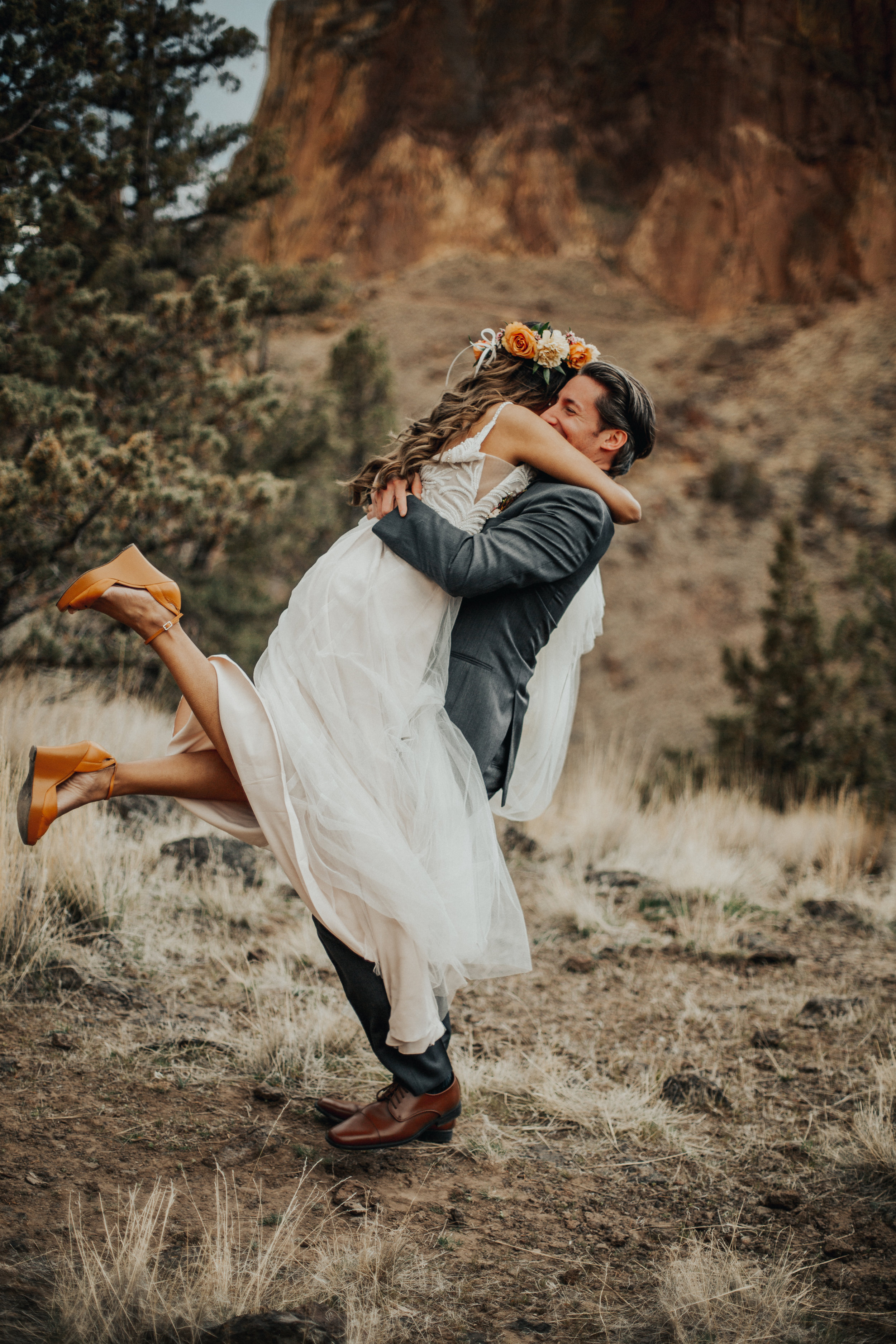 Smith Rock State Park Elopement, Bend Oregon   Rosemary & Pine Photography