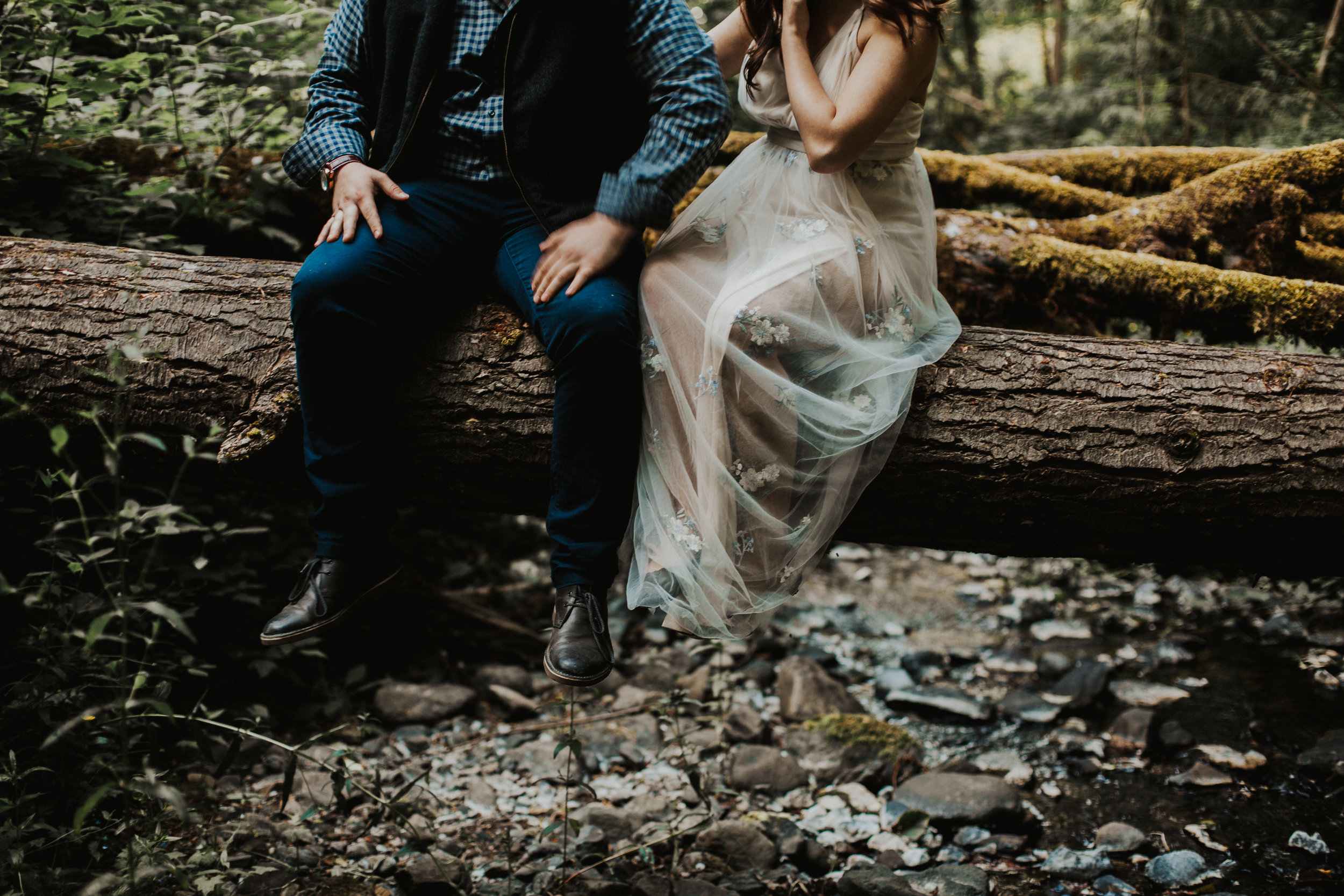 Forest Park Engagement Session in Portland Oregon | Rosemary & Pine Photography