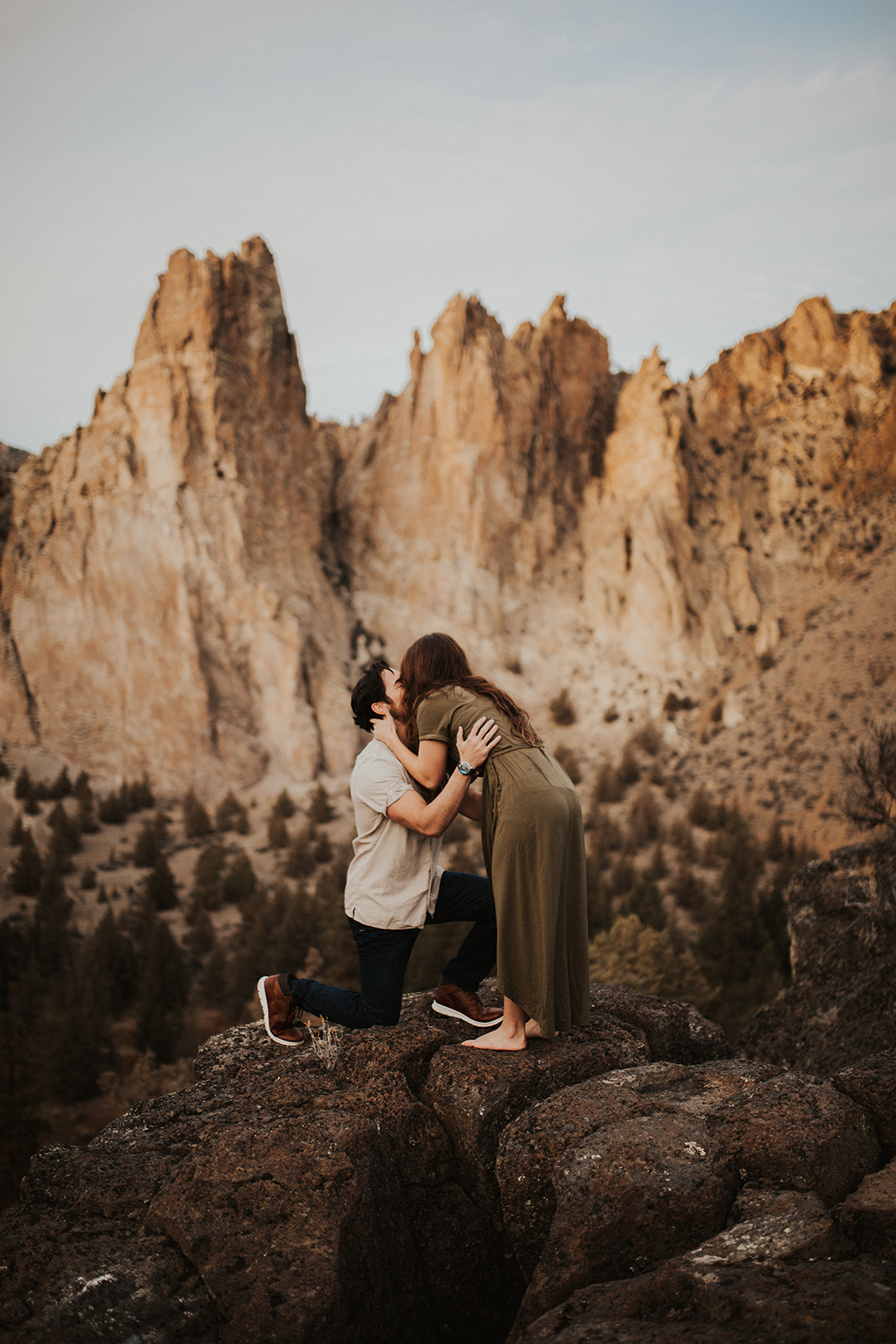 Smith Rock State Park Proposal, Terrebonne Oregon | Rosemary & Pine Photography