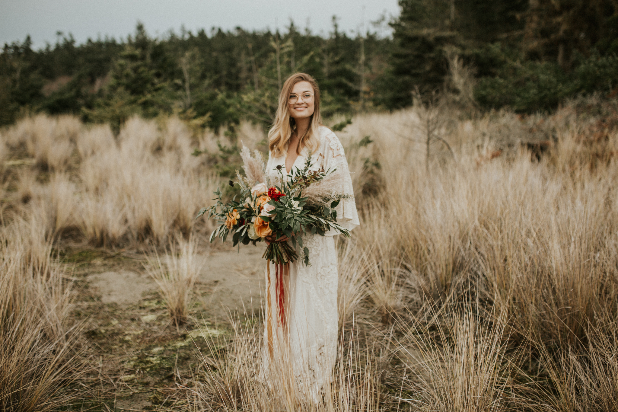 Rosemary & Pine Photography | Styled Washington Elopement at Deception Point