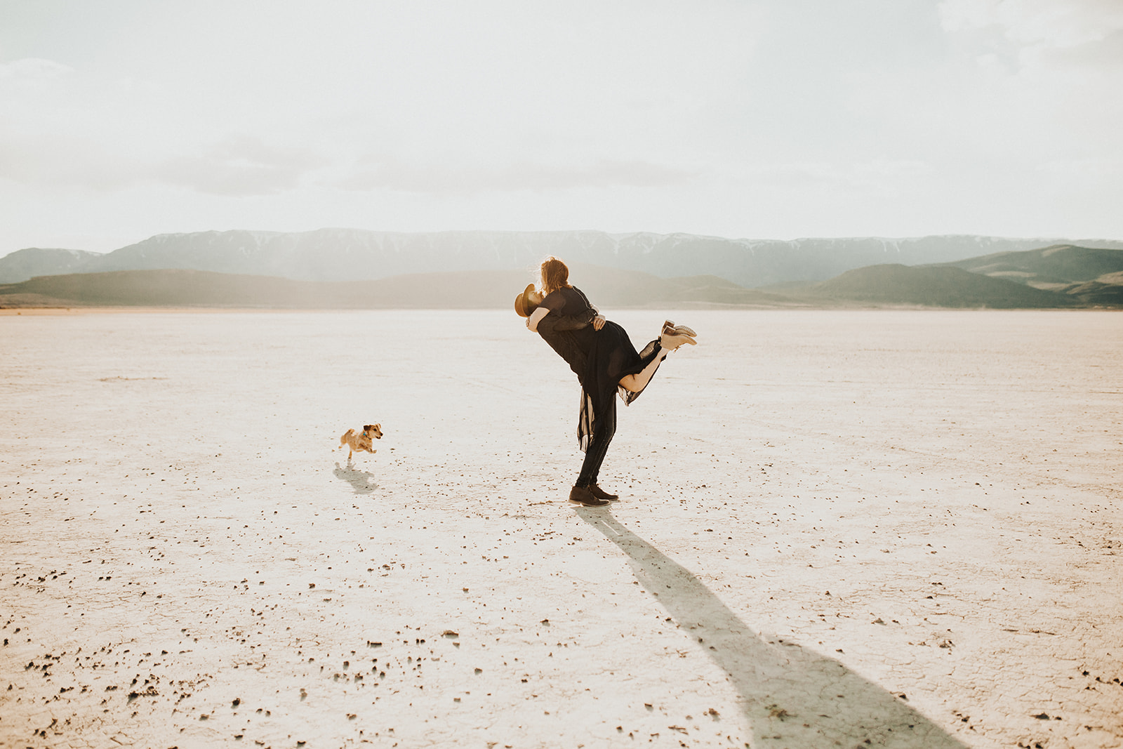 Alvord Desert Engagement Session | Cameron and Lara | Rosemary & Pine Photography