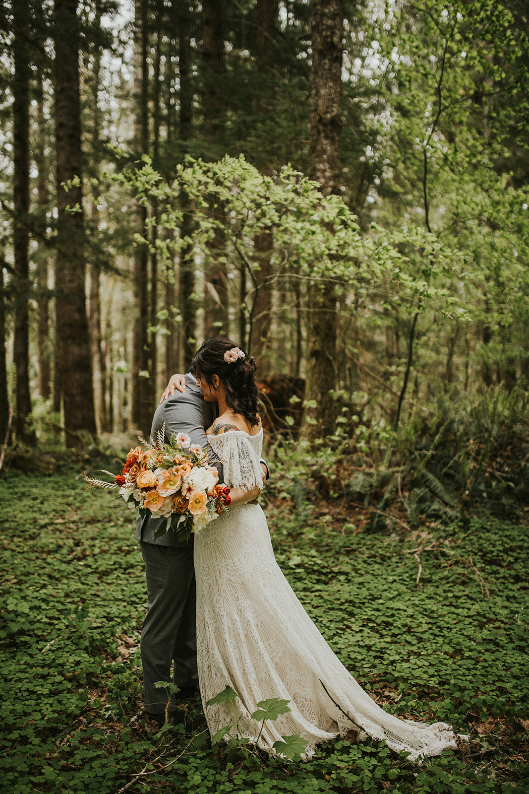 Adventure Elopement in Mt. Rainier National Park | Michael and Breanna | Rosemary & Pine Photography