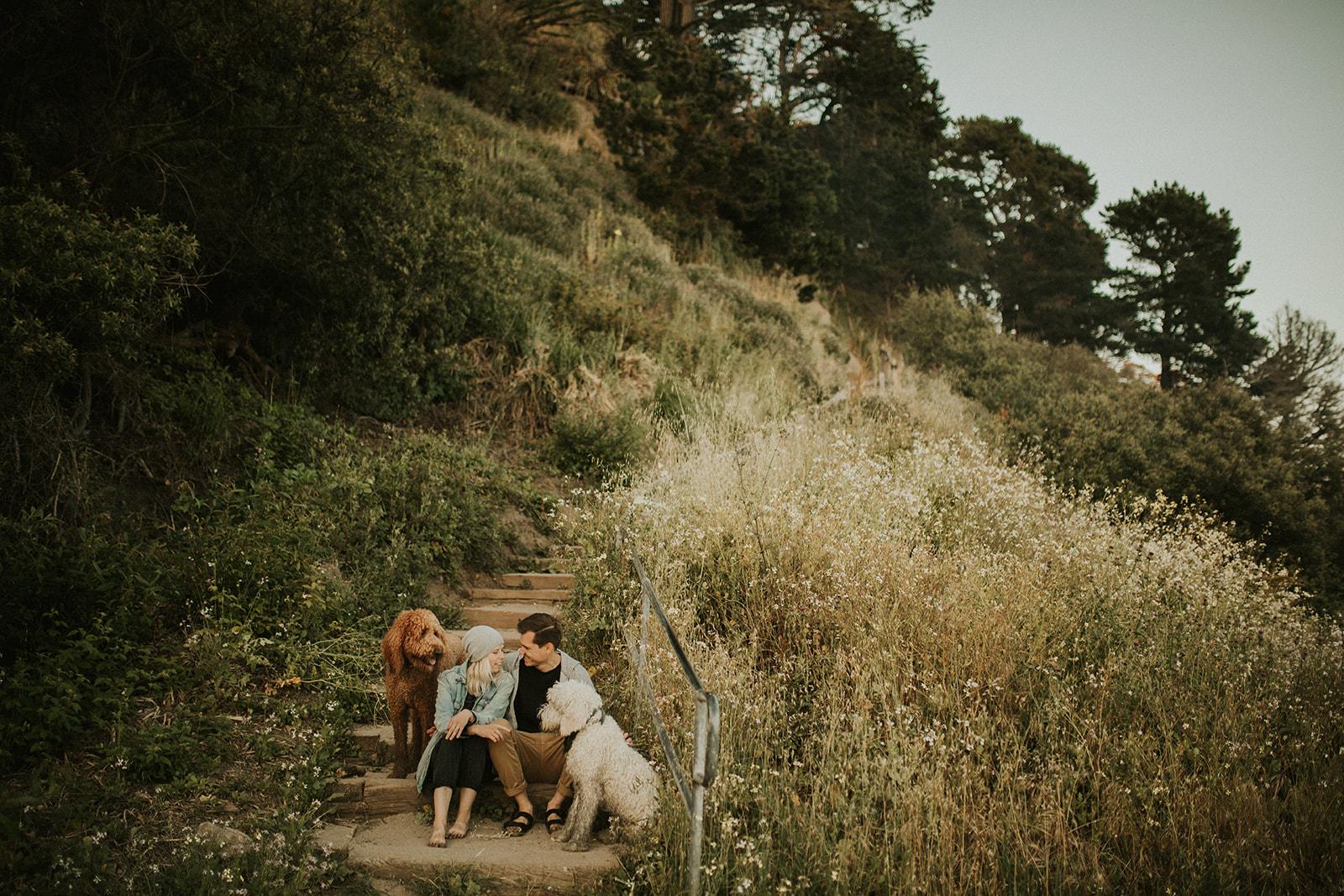 California Coast Couple Session in Santa Cruz California