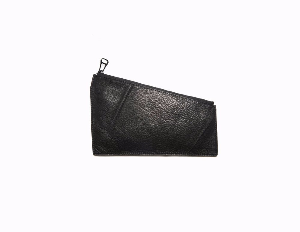 Armalee GEOMETRIC POUCH BLACK. Pipe + Row. $49.