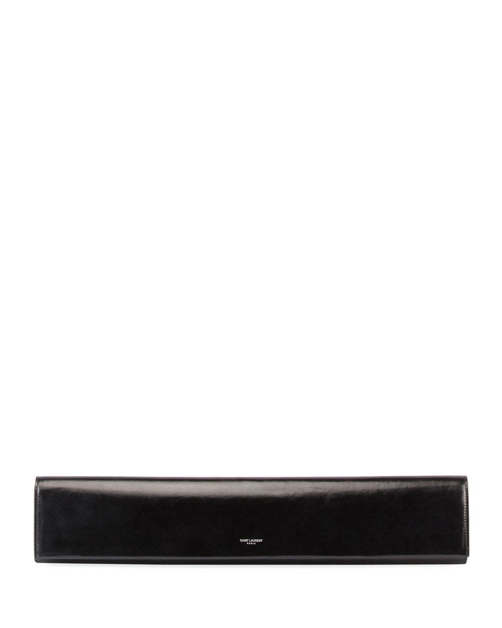 Saint Laurent Fetiche Exaggerated East-West Leather Clutch Bag. Neiman Marcus. $1,550.