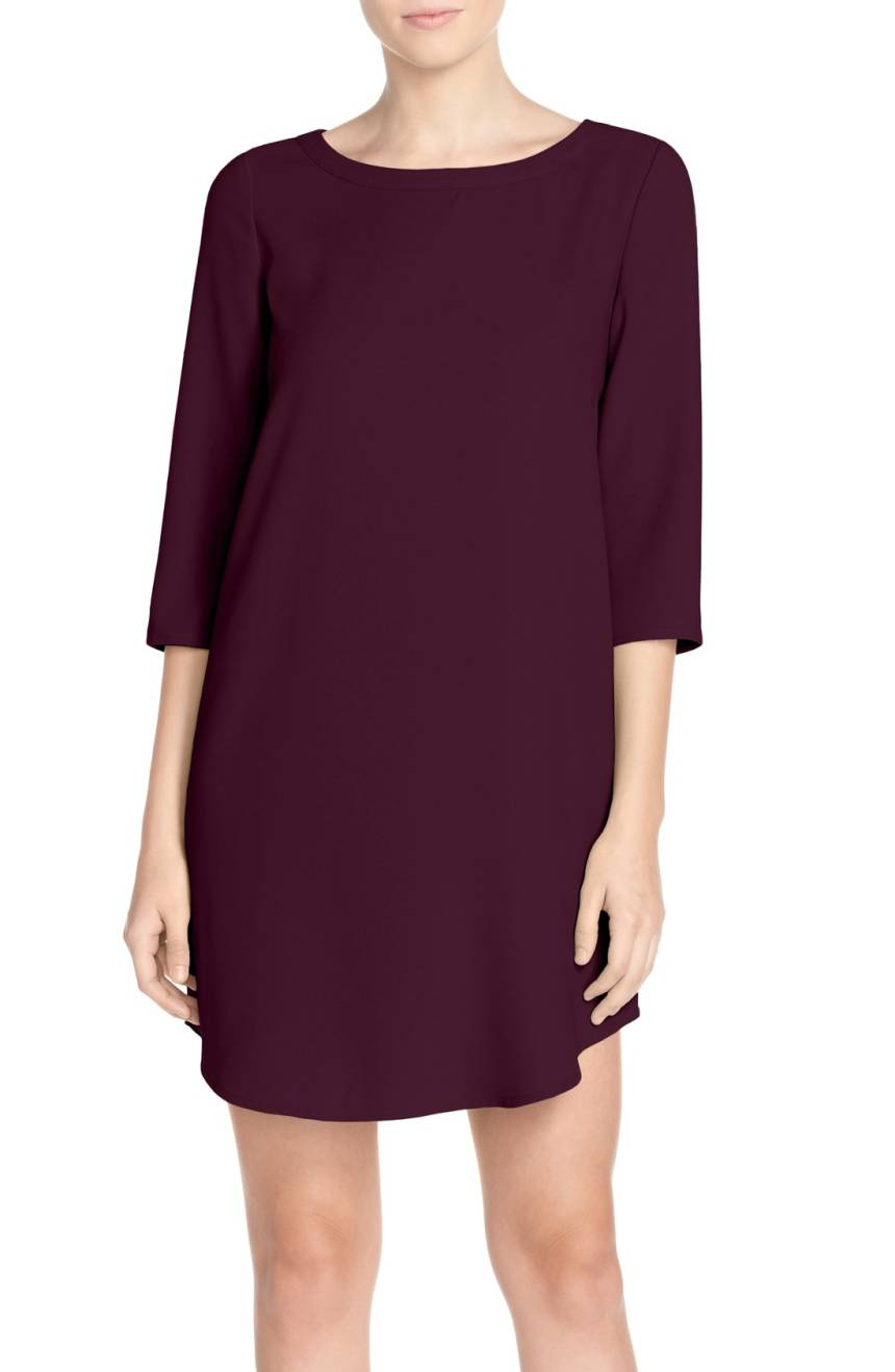 BB Dakota Jazlyn' Crepe Shift Dress. Available in three colors. Nordstrom. $88.