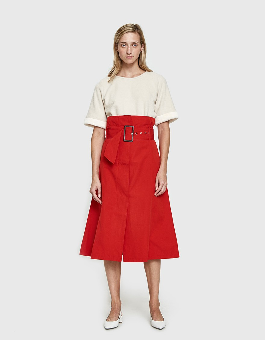Farrow Andi Skirt. Need Supply. $76. (Can add bulk if you carry weight in your stomach. Add a heel & an eye catching top. Otherwise, great for inverted triangle + rectangle body types.)