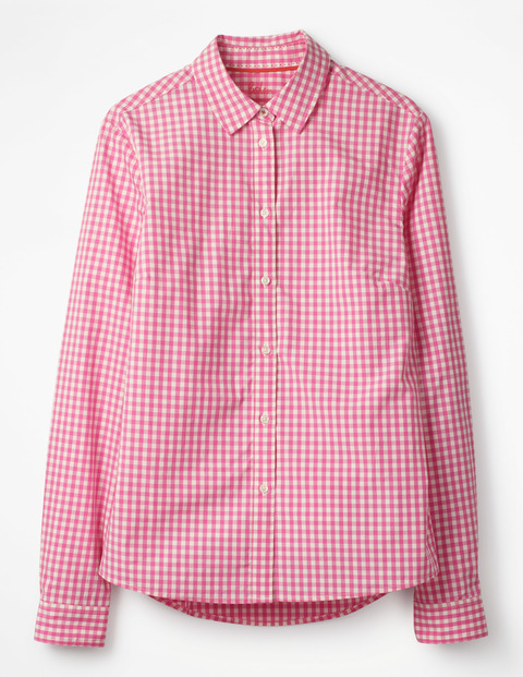 Get ready for lots and lots of gingham. Boden knows how to make a great classic shirt and this one comes in several colors and prints. Try it in place of jacket- button it halfway or tie it. Alternatively, button it all the way up and down and tuck it in with a relaxed boyfriend jean and slides.  THE CLASSIC SHIRT. Available in multiple colors and prints. Boden. $60-75.