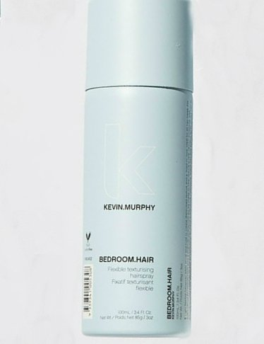 If you just need hairspray for your hosiery, this is too expensive. But, if you are looking for that messy, sexy look- this is my FAV. Kevin Murphy Bedroom Hair Flexible Texturizing Hairspray. Amazon. $35.77.