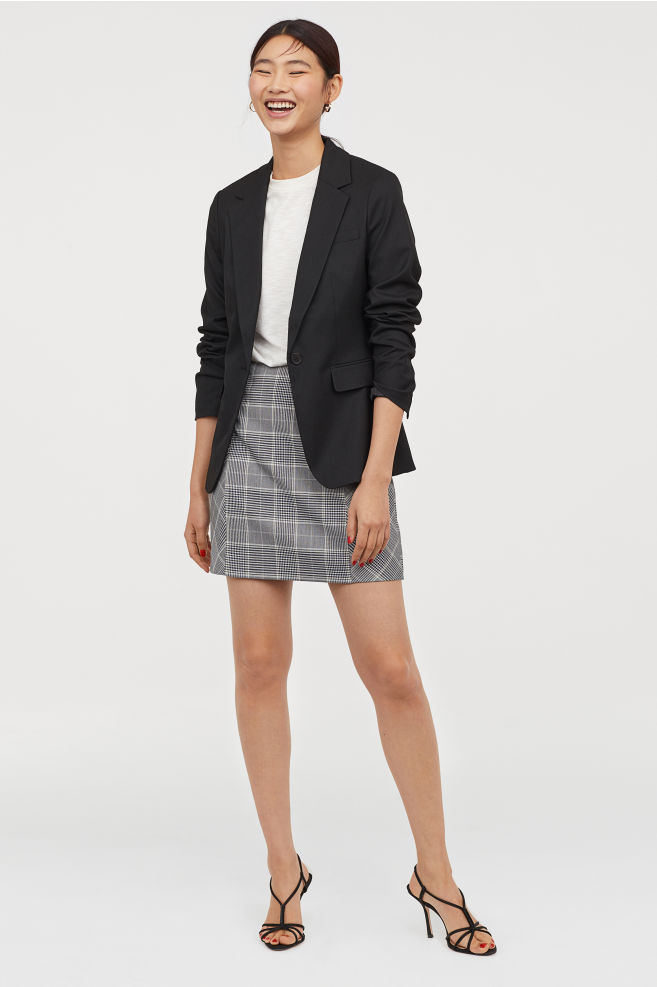 Fitted jacket. H&M. $34.