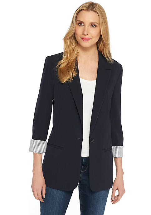 Boyfriend Blazer. Available in three colors. The Limited. Was: $119. Now: $59