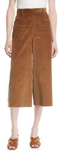 See by Chloe Wide-Leg Corduroy Cropped Pants. Neimans. $375.