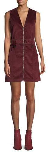 Veronica Beard Orial Short Zip-Front Corduroy Dress. Neimans. $495.