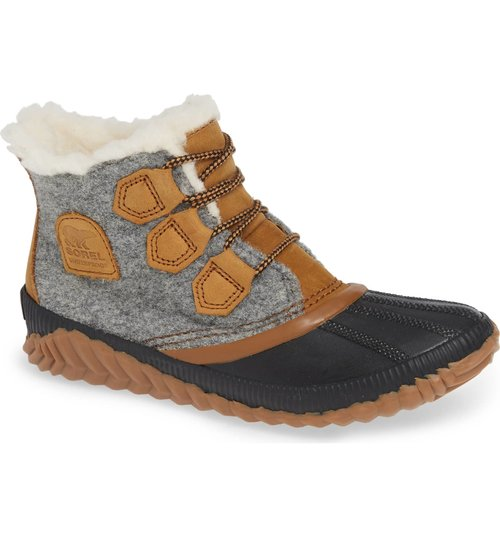 Sorel Out N About Plus Waterproof Bootie. Multiple colors available. Nordstrom. $120.