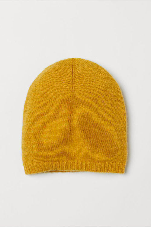 Knit Cashmere Hat. Available in 2 colors. H&M. $29.