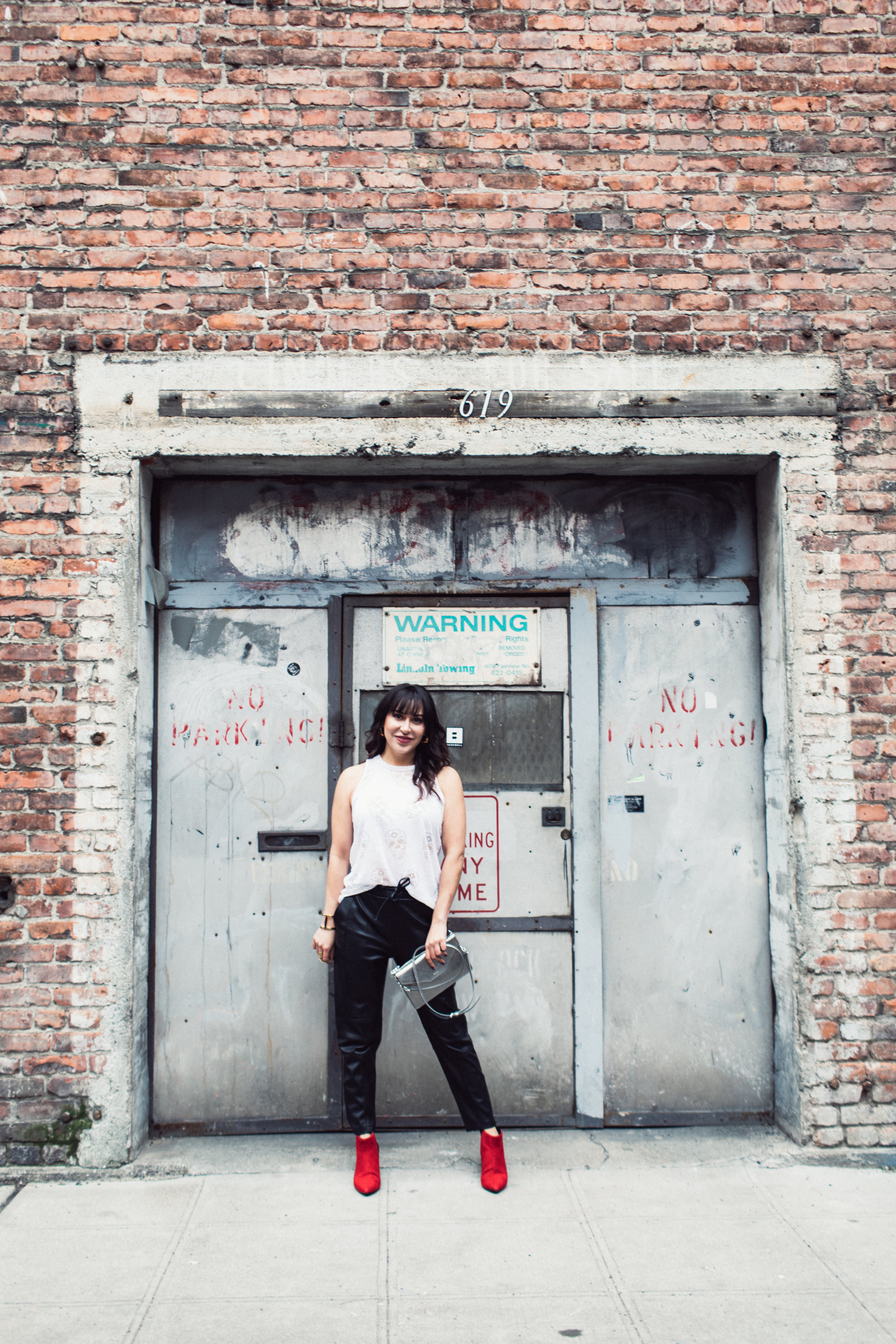 Real Poplin Style Client, Ashley. Poplin clients always wear their own pieces in the photo shoots. We work with what she already has in her closet, then add pieces that will complete her authentic personal style. See Ashley's story on the client page. Photo by  Chamonix Browne . Hair and makeup by  Kat St. John.